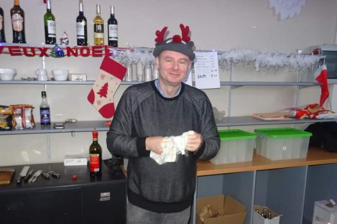 Laurent notre barman
